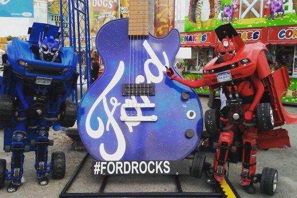 FORD ROCKS