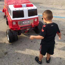 Firetruck & Boy