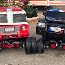 Firetruck & Police Car