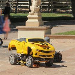 ROBOCARS Yellow transformed