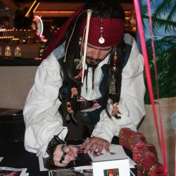 Jack SParrow signing
