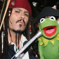 Jack Sparrow w Kermit