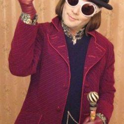 Wonka cane & Glasses